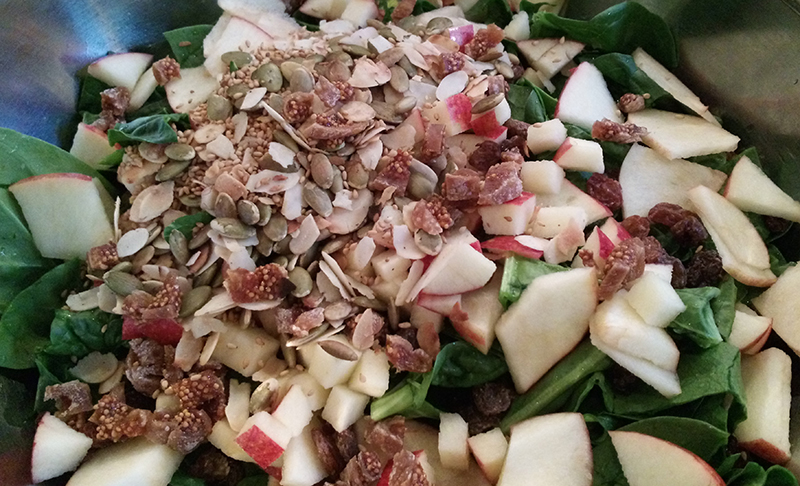 salade epinards